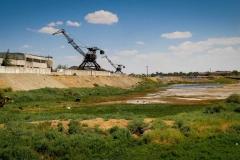 Former shipyard in Aral