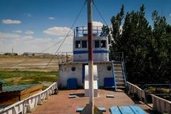 Aral Sea museum in Aral