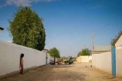 Residential neighborhood in Muynaq