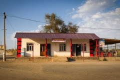 Zina's teahouse in Muynaq